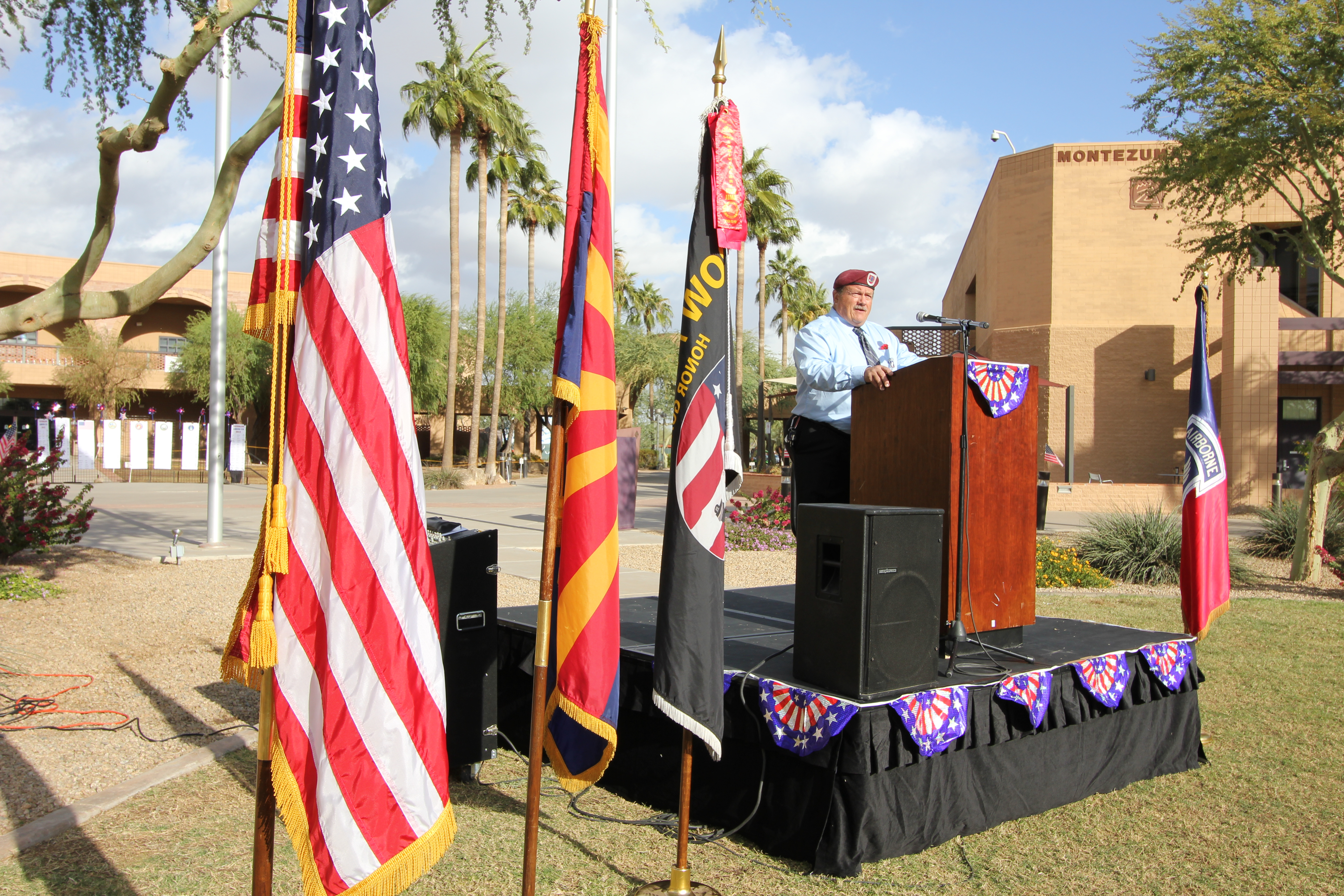 Veterans Day honored at EMCC