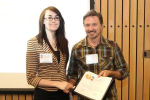 EMCC student ties for 3rd place in Oral Presentations (Graves)