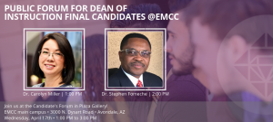 Final candidates announced for Dean of Instruction