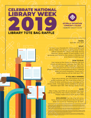 EMCC National Library Month Raffle