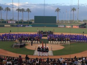 EMCC commencement at Goodyear Ballpark