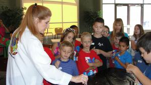 Mad Science class in Kids College