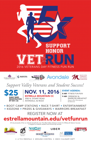 2016 Veterans Day Fitness Fun Run