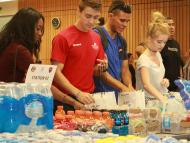 EMCC students build care packages for Avondale first responders.